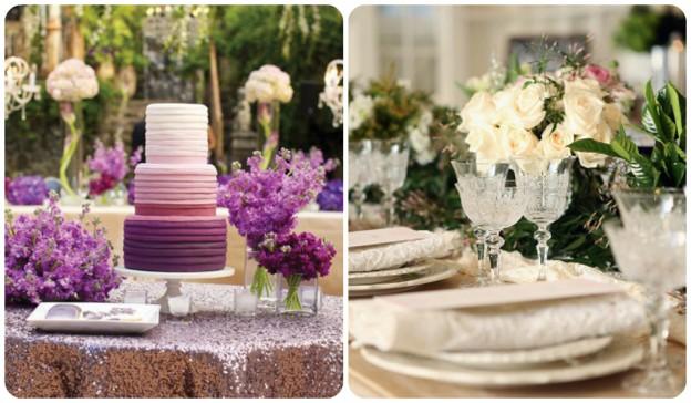 Colores en una boda
